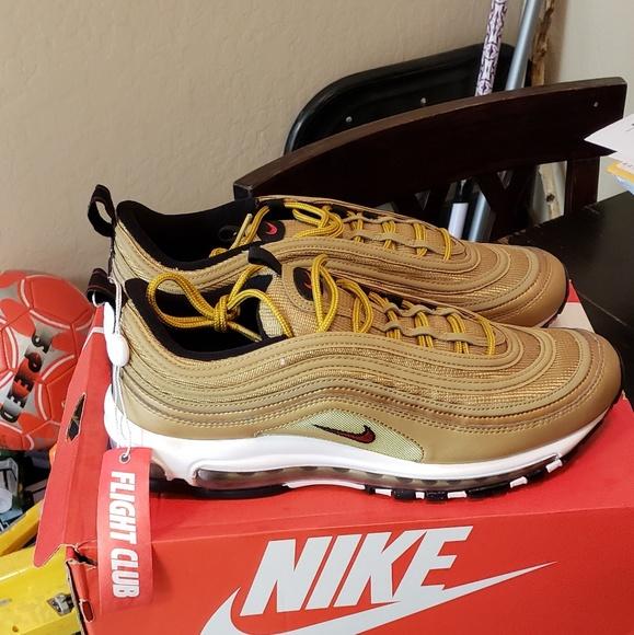 Nike Air Max Og 97 Gold Size 105 Nwt